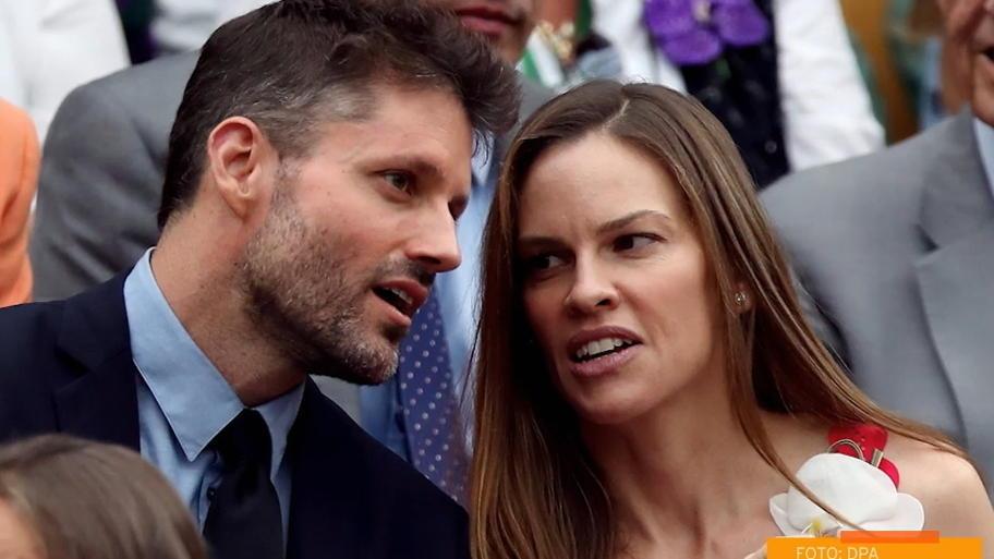 Hilary Swank hat ihren Freund Philip Schneider geheiratet