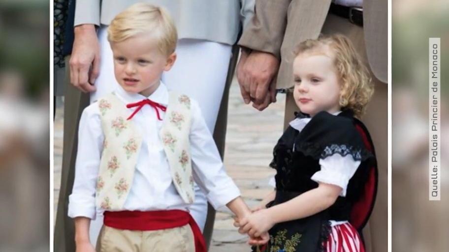 So innig lieben sich Gabriella und Jacques von Monaco