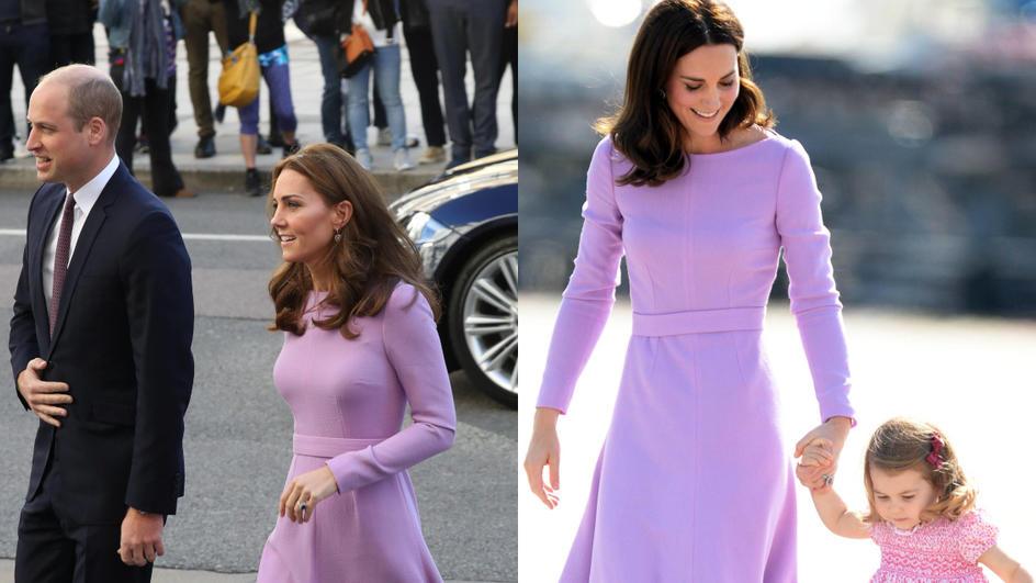 Herzogin Kate: Dieses Kleid passt immer noch wie angegossen