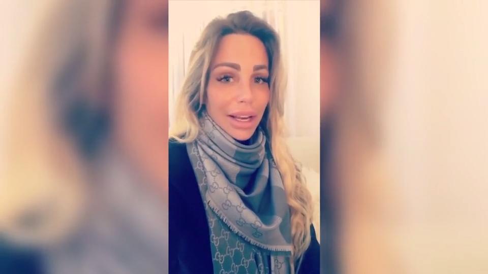 Gina-Lisa Lohfink über Lungenentzündung: