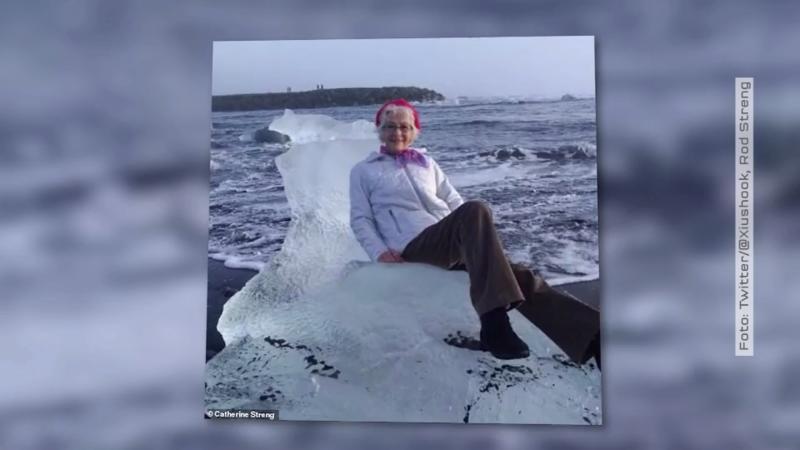 Island: Oma auf Eisscholle abgedriftet