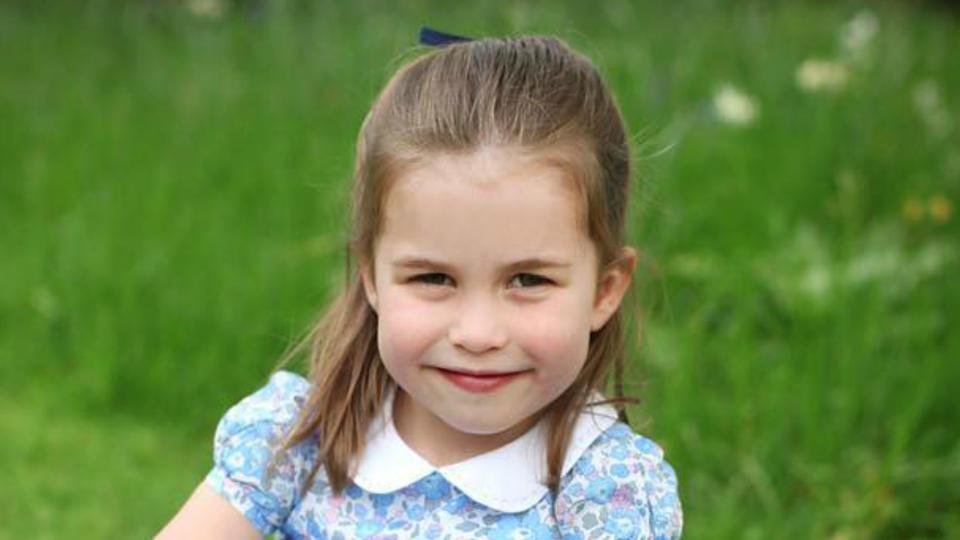 Britische Prinzessin Charlotte jetzt vier   Stars