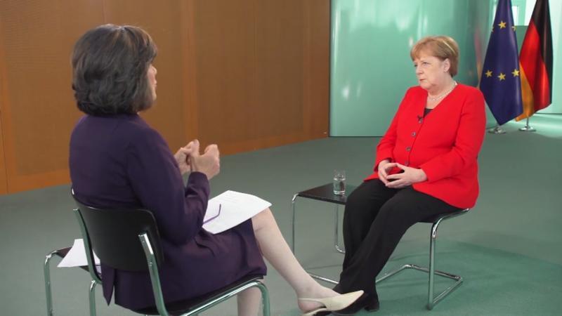 Merkel im CNN-Interview: Sie will Kanzlerin bis 2021 bleiben