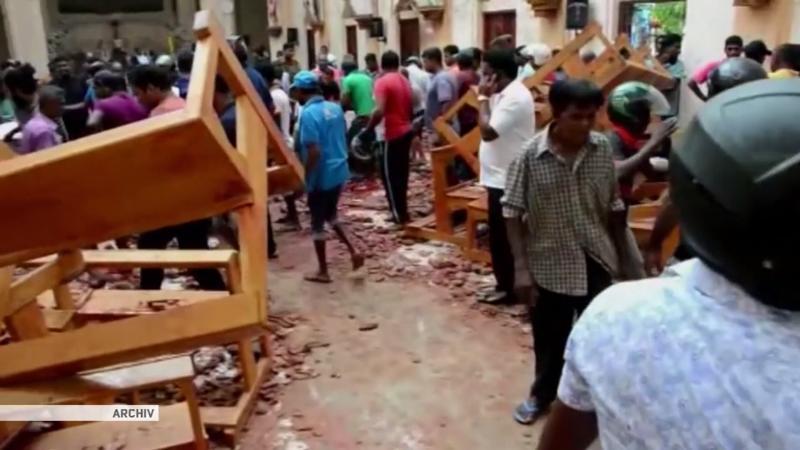 Anschläge in Sri Lanka: Hauptverdächtiger im Nahen Osten festgenommen