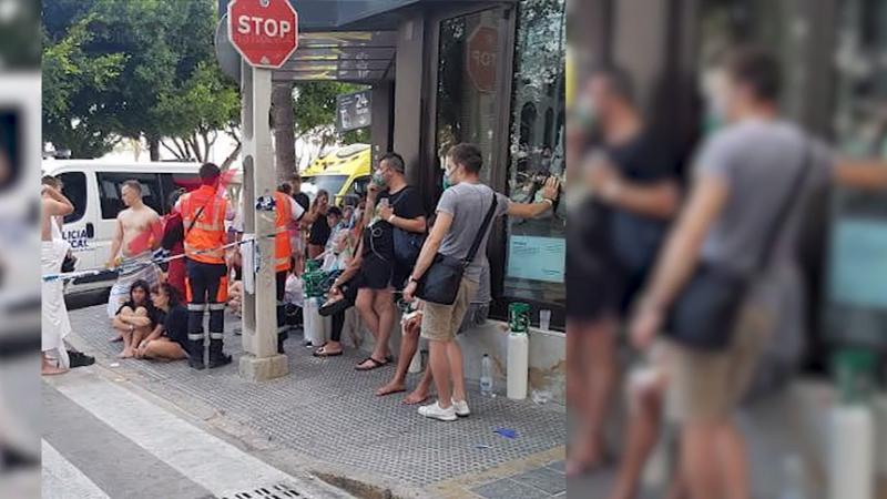 Mallorca: Brand in Hotel - 600 Urlauber fliehen vor den Flammen | Welt