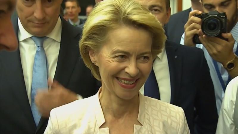 Mit knapper Mehrheit: Ursula von der Leyen wird neue EU-Kommissionschefin