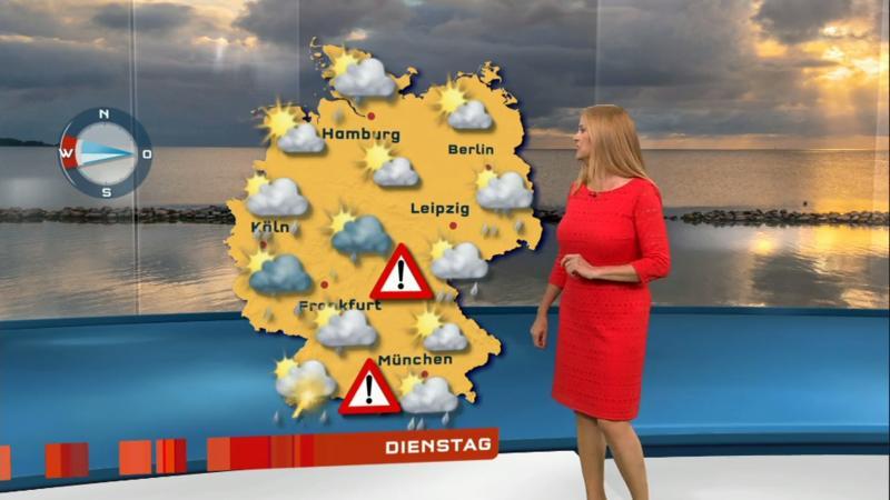 Starkregen und Hagel möglich: Warnung vor Unwettern in Unterfranken