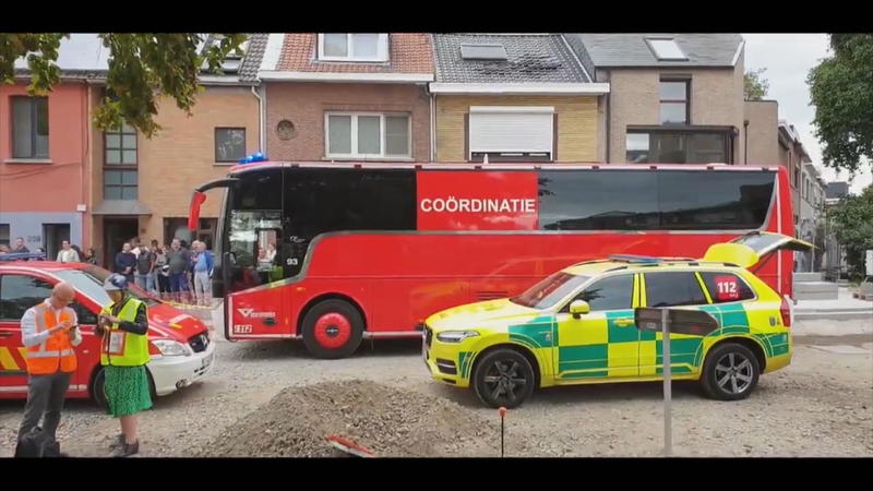 Explosion in Antwerpen: Mehrere Menschen unter Trümmern begraben