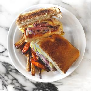 Jimmys ultimatives Roast Beef-Sandwich