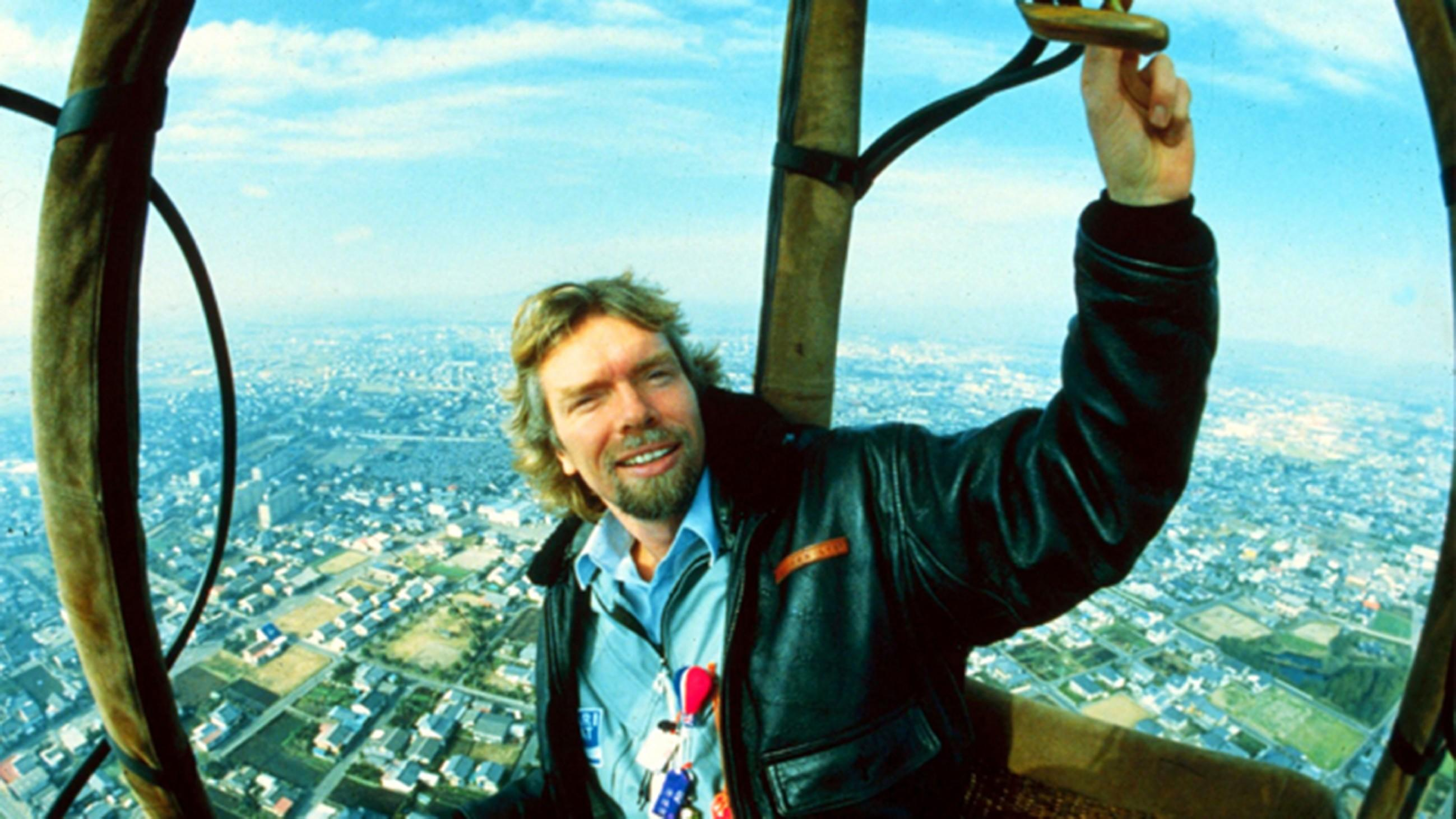 Richard Branson - Don't Look Down