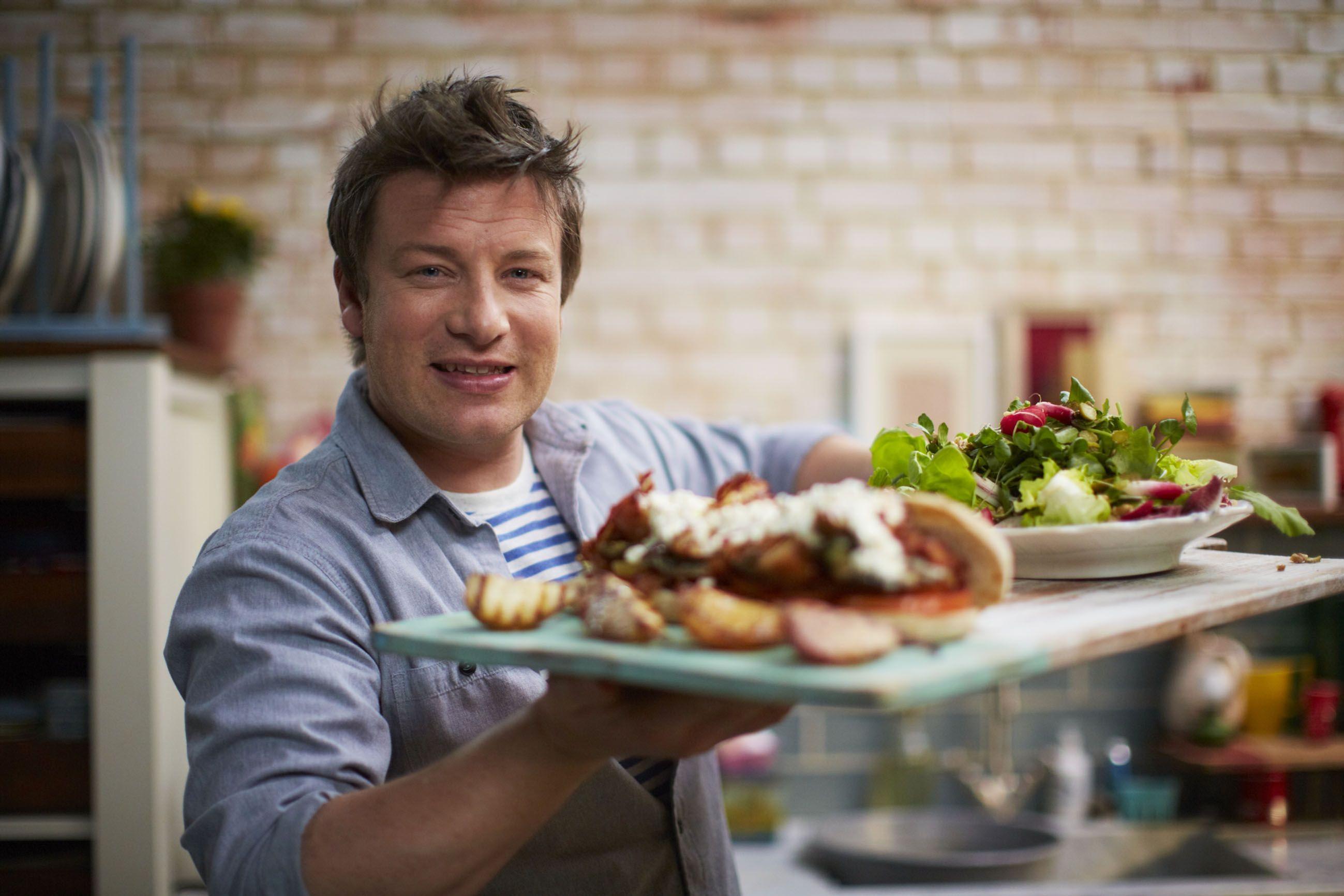 Jamies 15 Minuten Küche - Krebsbolognese / Jumboburger