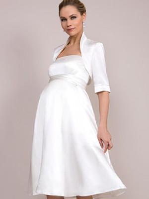 Brautkleider Fur Schwangere Brautmode Fur Werdende Mutter