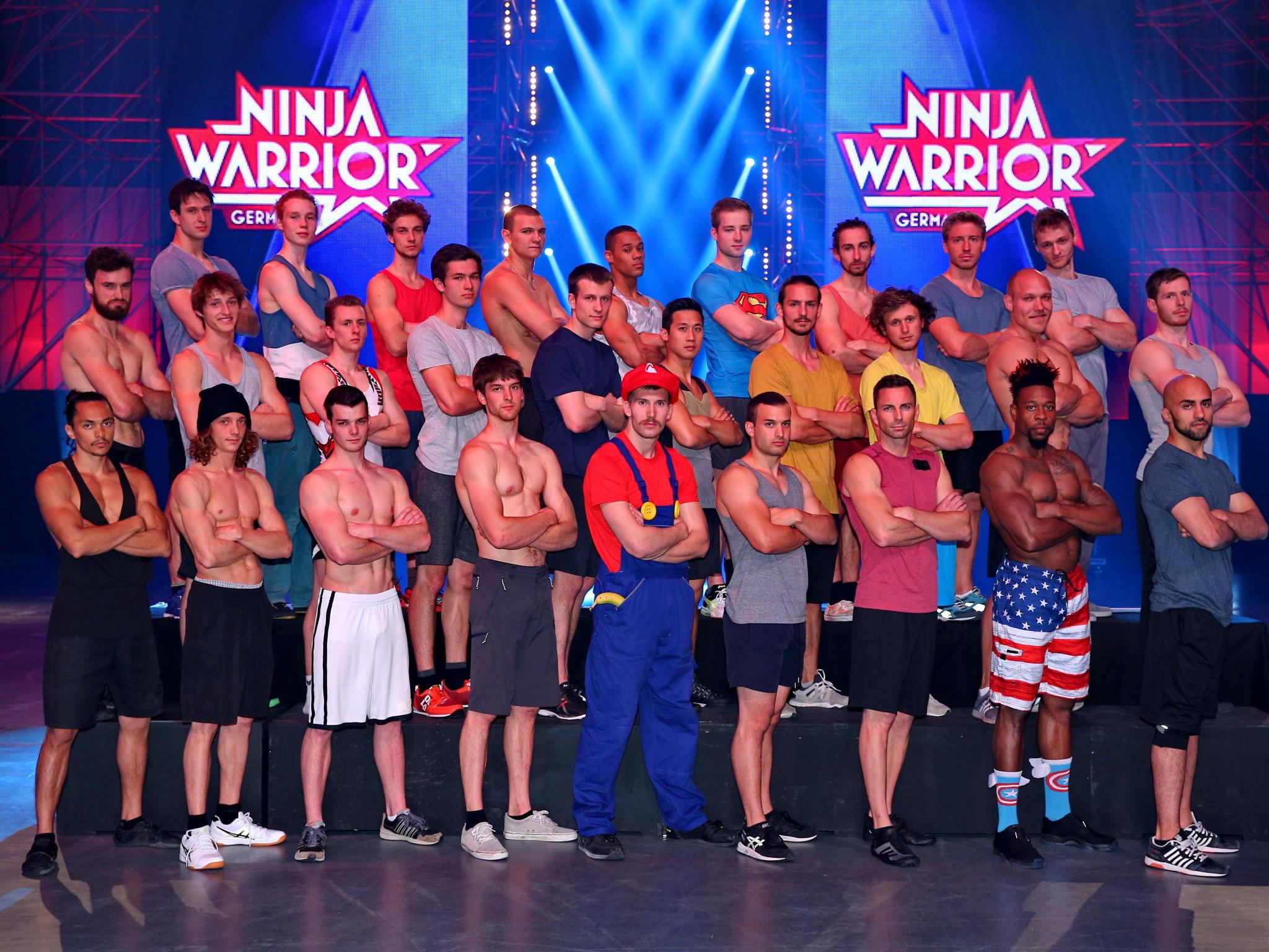 ninja warrior germany 2017