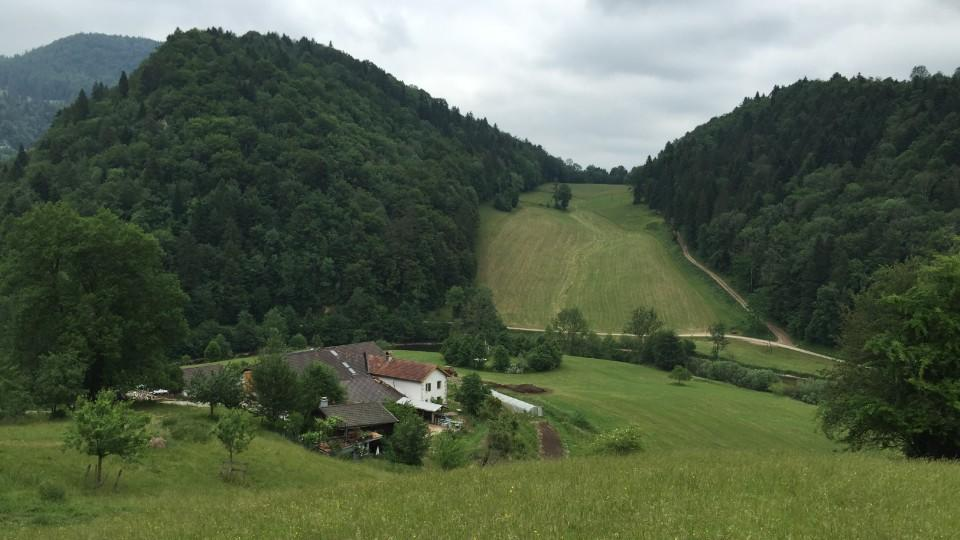 Die Farm in den Alpen