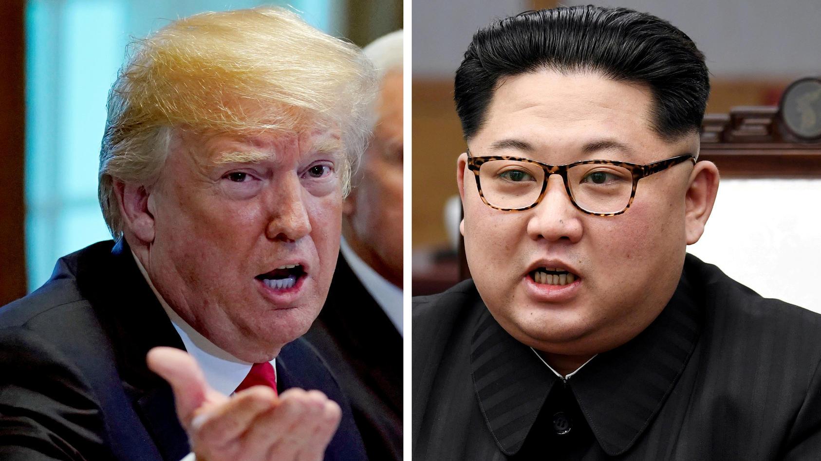 Das Treffen steht: Donald Trump will sich mit  Kim Jong-un am 12. Juni treffen.