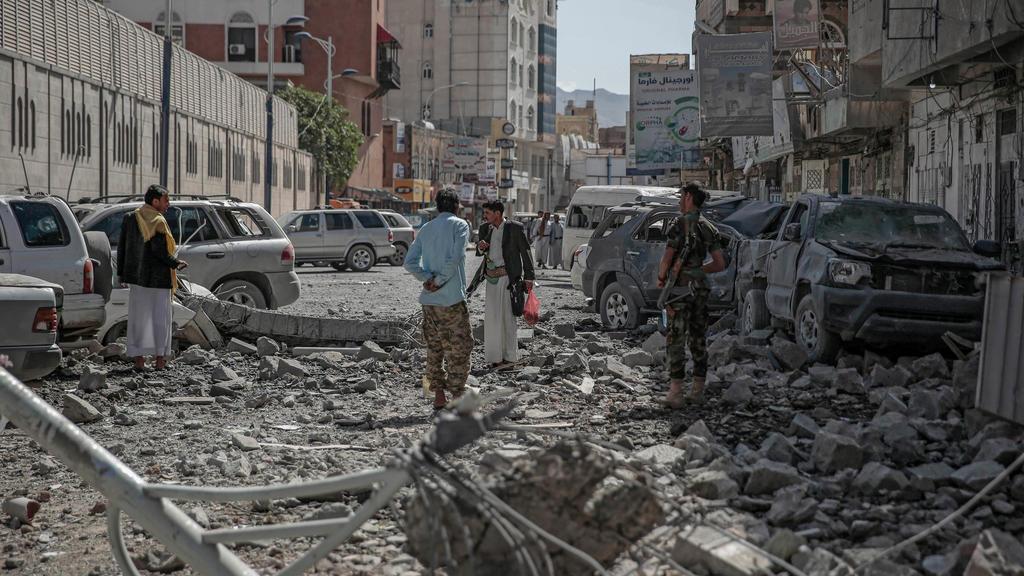 Luftangriff auf Sanaa, Jemen