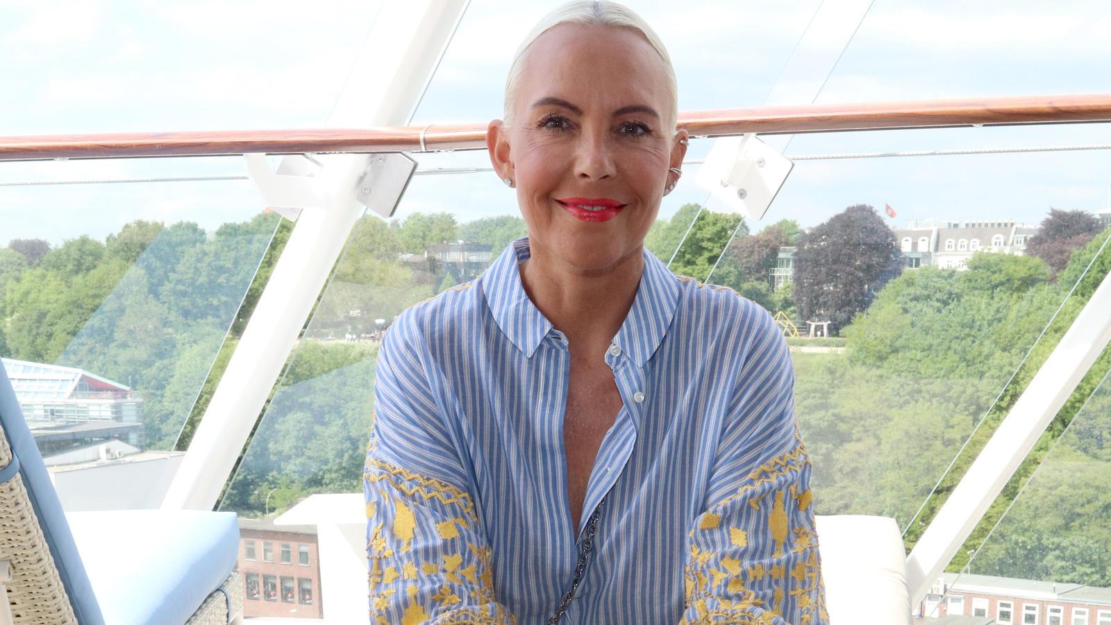 Natascha Ochsenknecht im Sleek Look: So sieht sie jetzt nicht mehr aus.