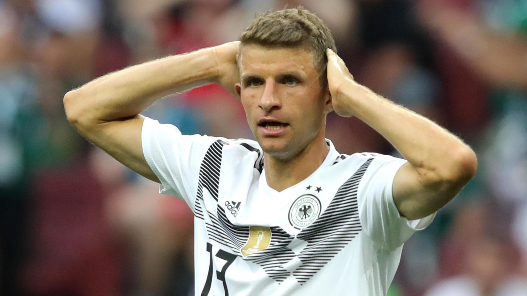 Auch Thomas Müller hat noch viel Luft nach oben.