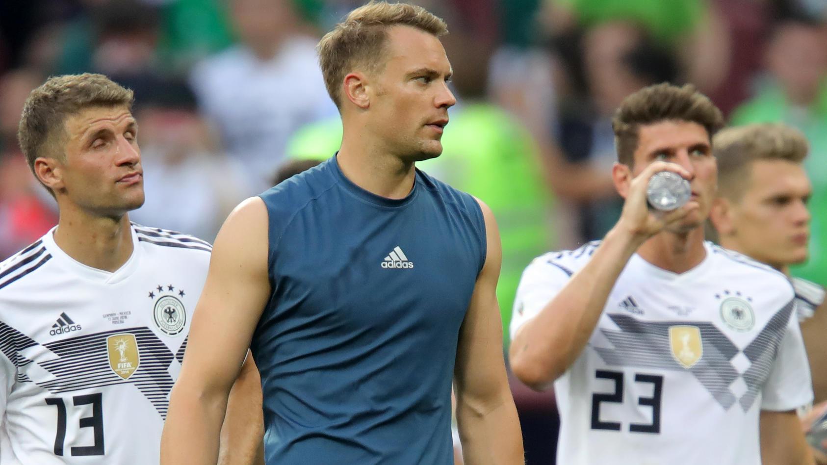 Noch eine Pleite bei der WM, und Manuel Neuer und Co. sind - mit großer Wahrscheinlichkeit - raus!