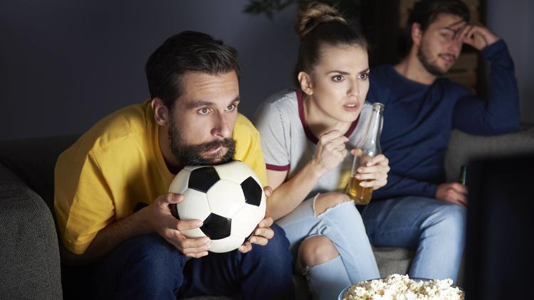 Aufregung durch Fußballschauen - Erhöhtes Herzinfarkt-Risiko bei Fans