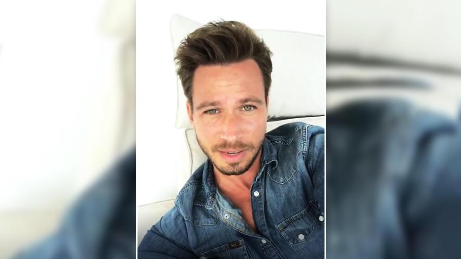 """Ex-""""Bachelor"""" Sebastian Pannek meldet sich nach Trennung von Clea-Lacy bei Instagram."""