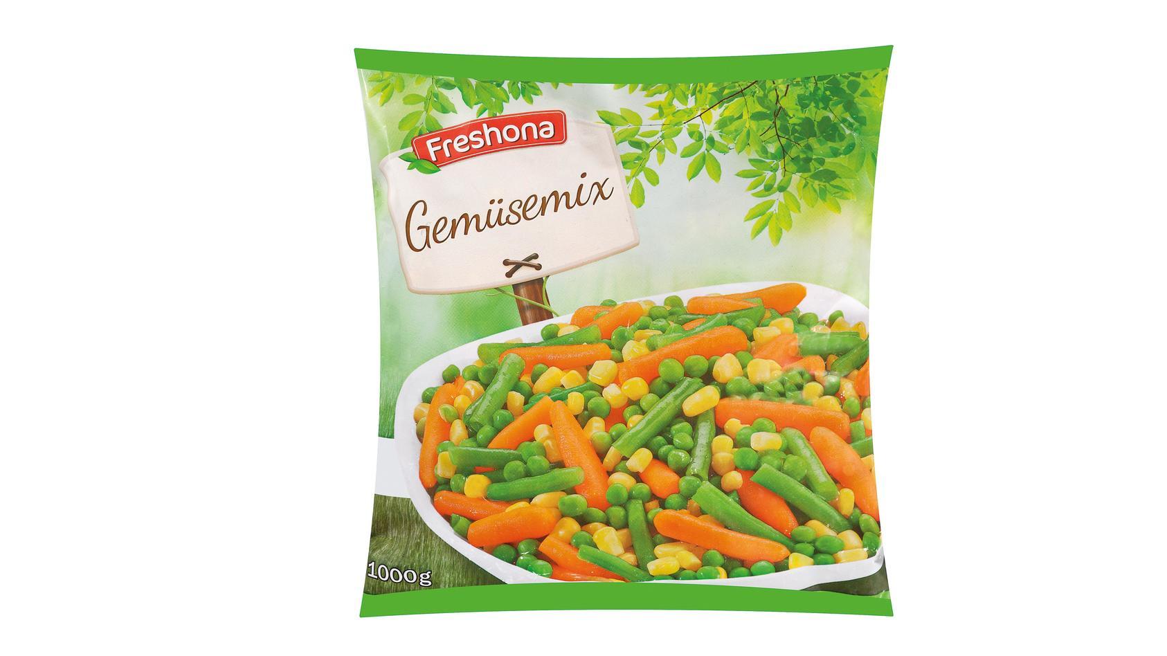 "Listerien-Gefahr: Lidl ruft das Produkt ""Freshona Gemüsemix, 1000 g"" zurück"