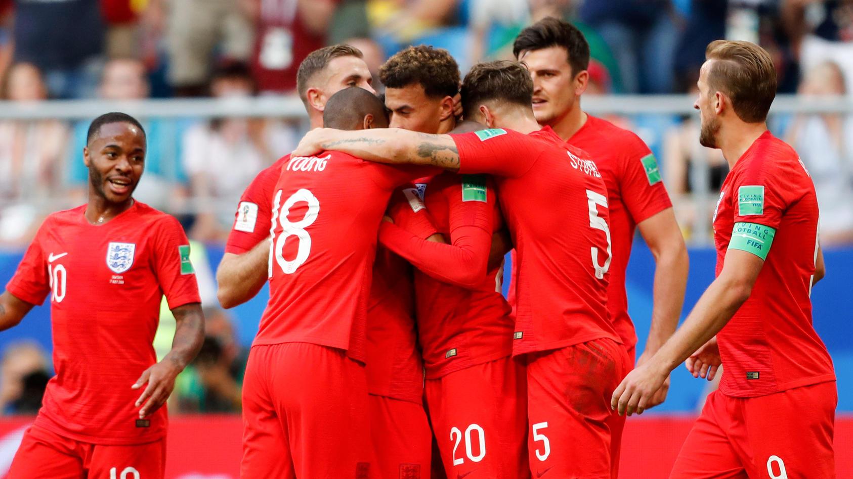 England ist seiner Favoritenrolle gerecht geworden.