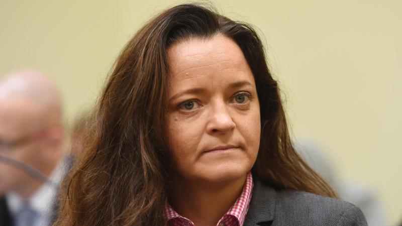 Die als Mittäterin bei den Verbrechen der NSU angeklagte Beate Zschäpe