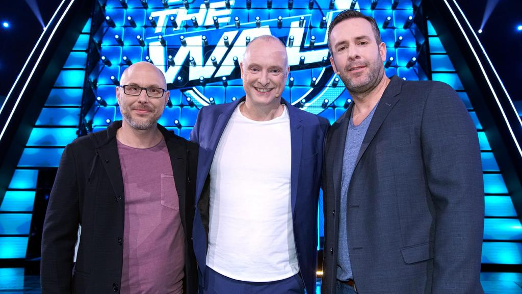 The Wall: Alex, Frank Buschmann und Mike