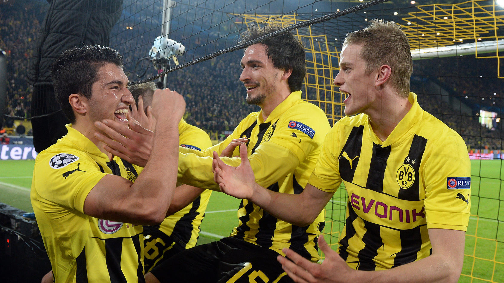 Borussia Dortmund  hatte auf dem Weg ins Champions-League-Endspiel 2013 bange Minuten zu überstehen