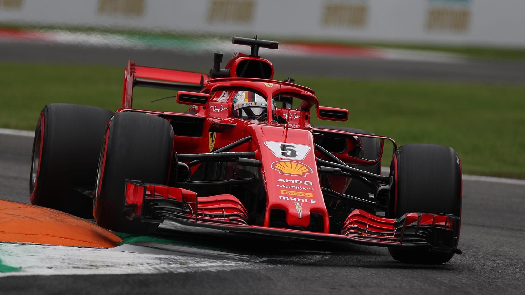 Sebastian Vettel war im 3. Training zum Italien-GP nicht zu schlagen