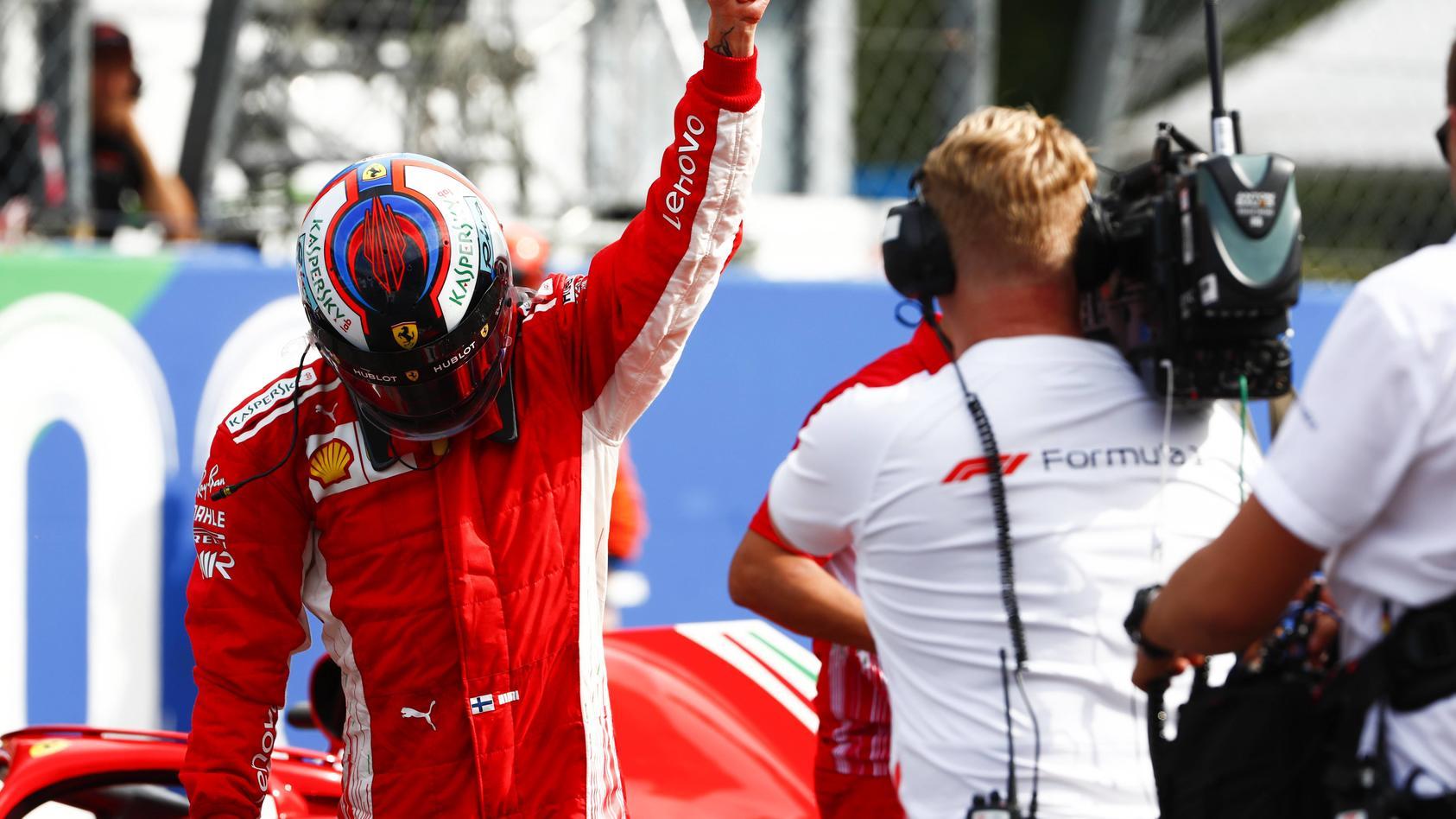 So schnell wie Kimi Räikkönen bei seiner Pole in Monza war noch nie ein F1-Pilot