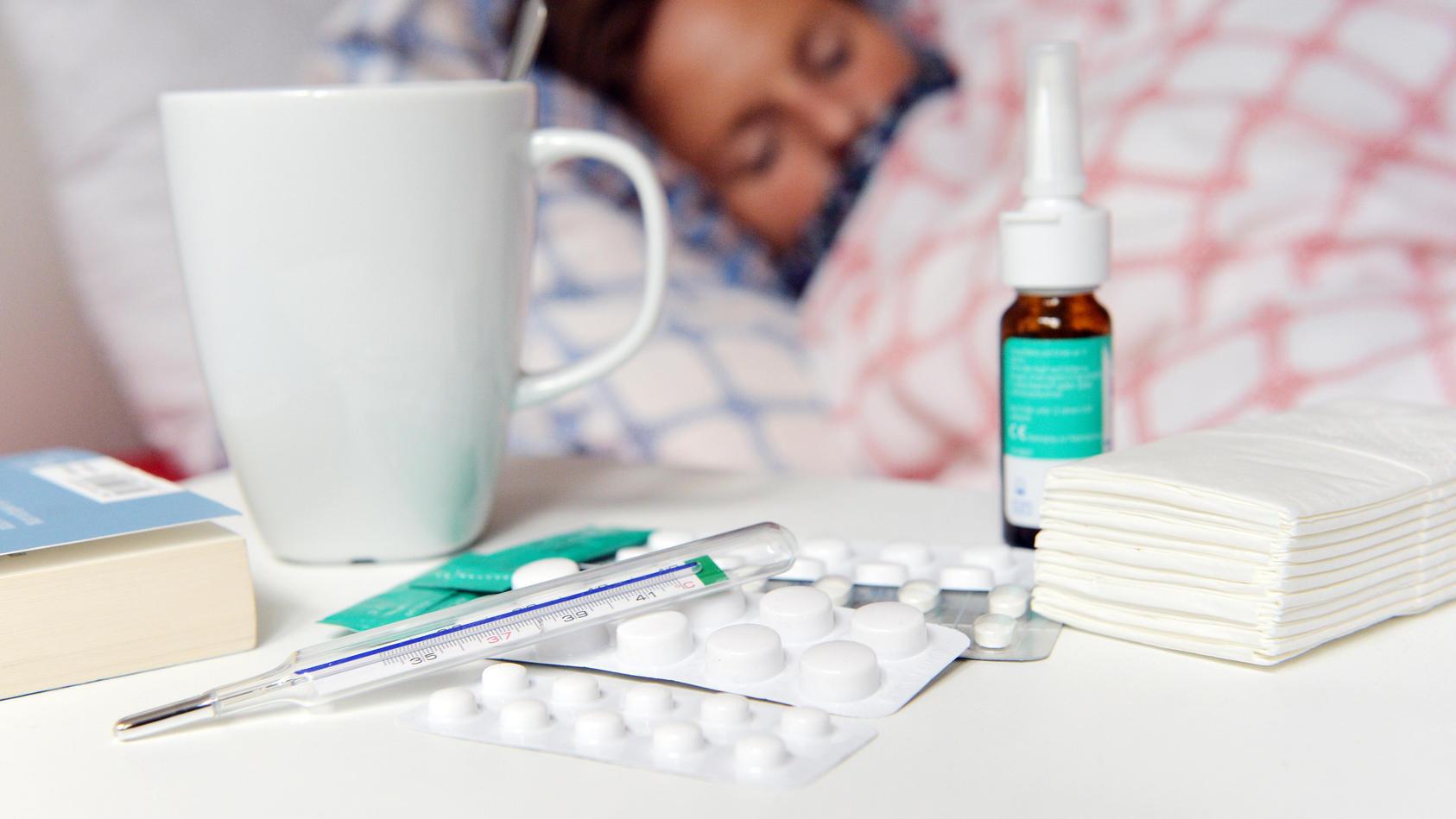 Viele Corona-Symptome ähneln denen einer klassischen Grippe oder Erkältung