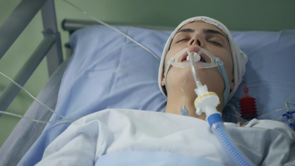 AWZ: Ekaterina liegt im Krankenhaus