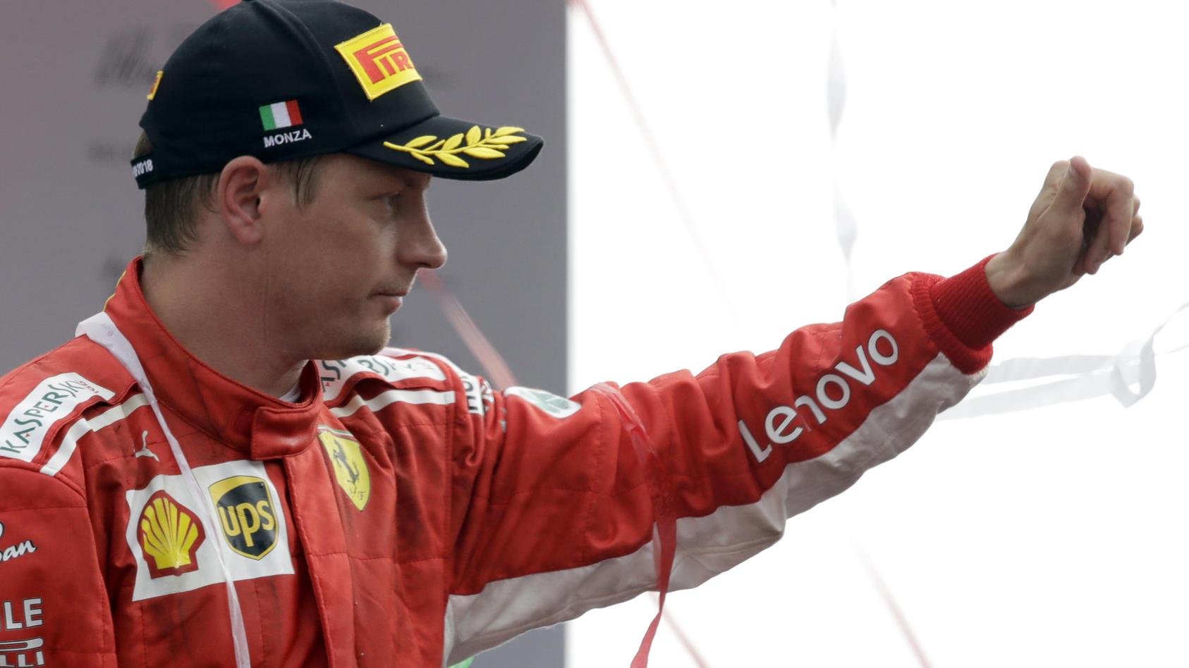 Kimi Räikkönen kann sich auf seine Fans verlassen.