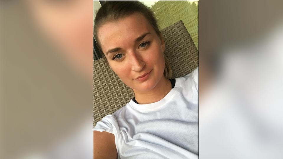 Romina Lammers trainiert für den Kölner Halbmarathon 2018.