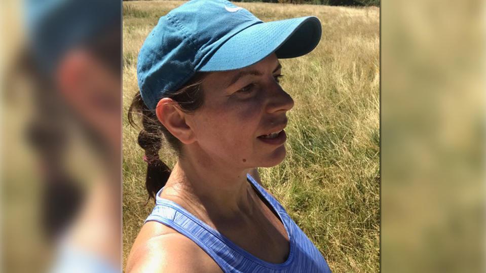 Daniela Altmayer trainier für den Kölner Halbmarathon 2018.