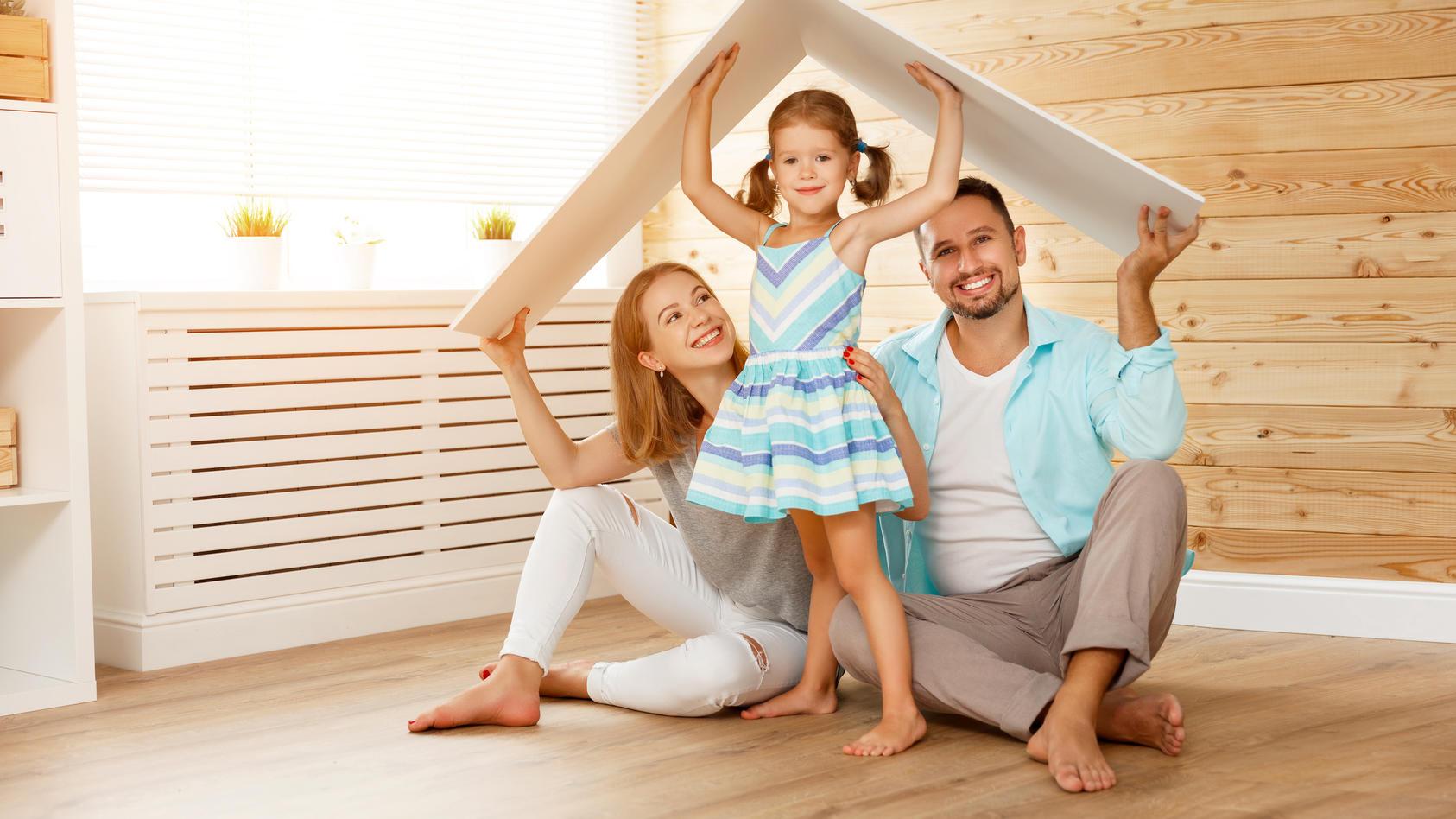 Familien können sich den Traum vom eigenen Haus nun vielleicht erfüllen.