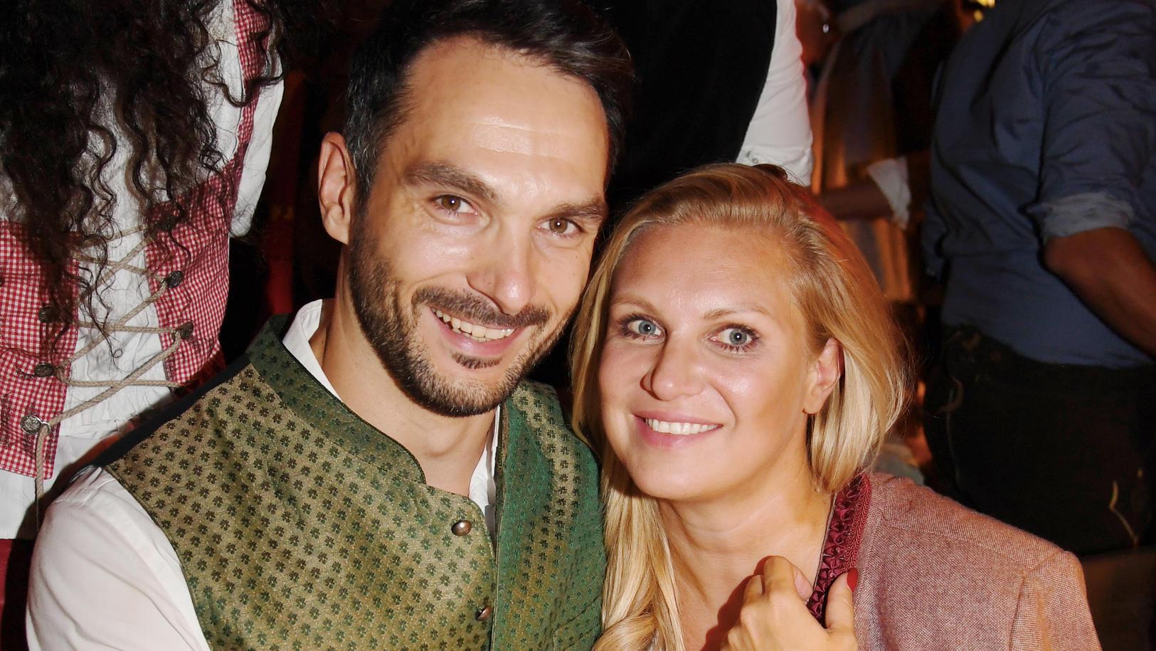 Magdalena  Brzeska schwärmt von ihrem neuen Freund Roland.