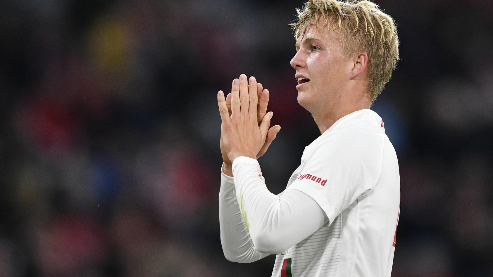 Felix Götze erzielte für den FC Augsburg und gegen den FC Bayern sein erstes Bundesliga-Tor