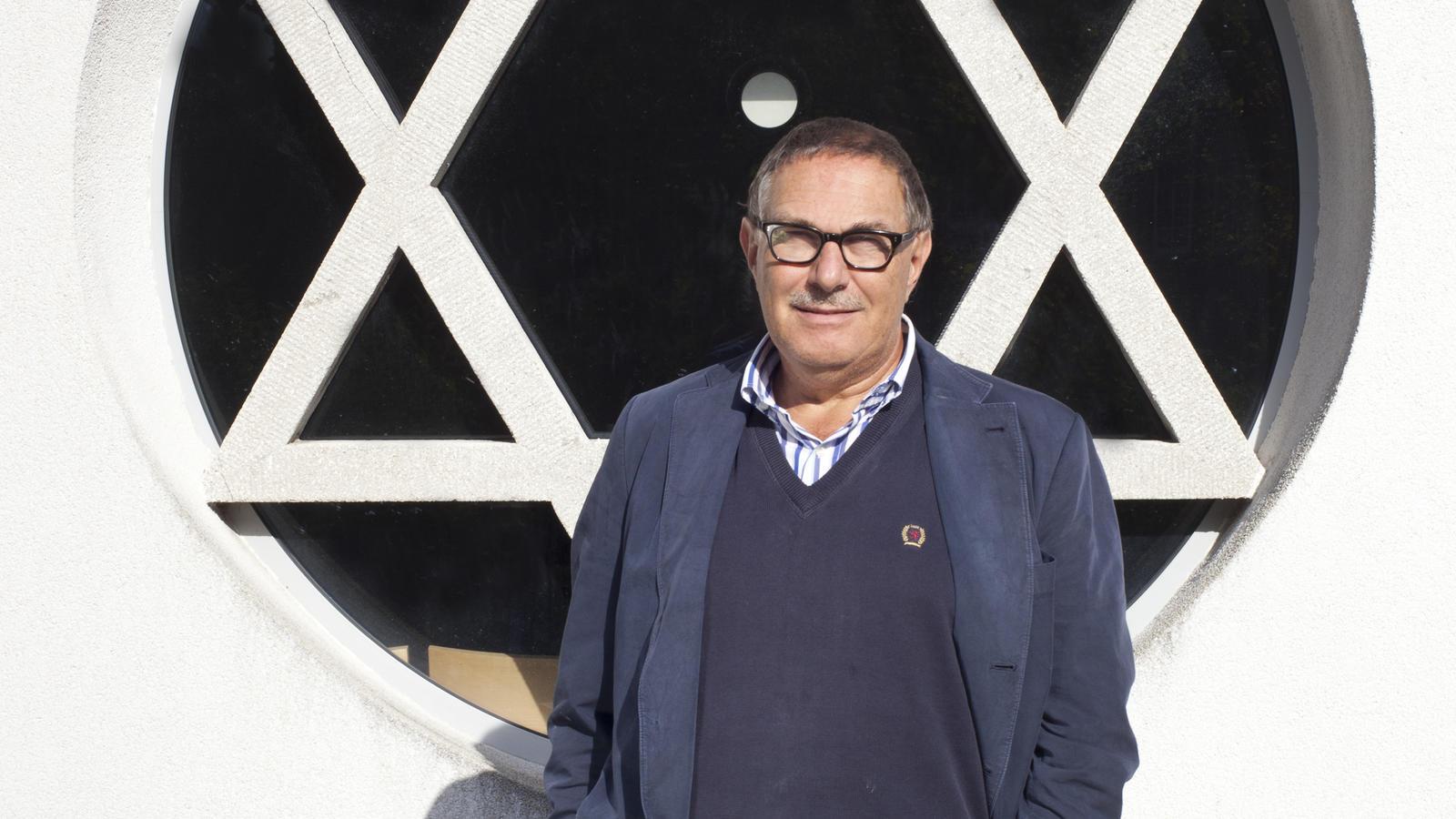 Alfred Jacoby ist der Vorsitzende der Jüdischen Gemeinde in Offenbach.