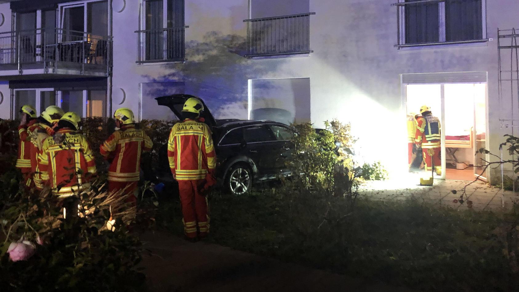Der Pkw-Fahrer war nach Polizeiangaben alkoholisiert, als der Unfall in Salach passierte.