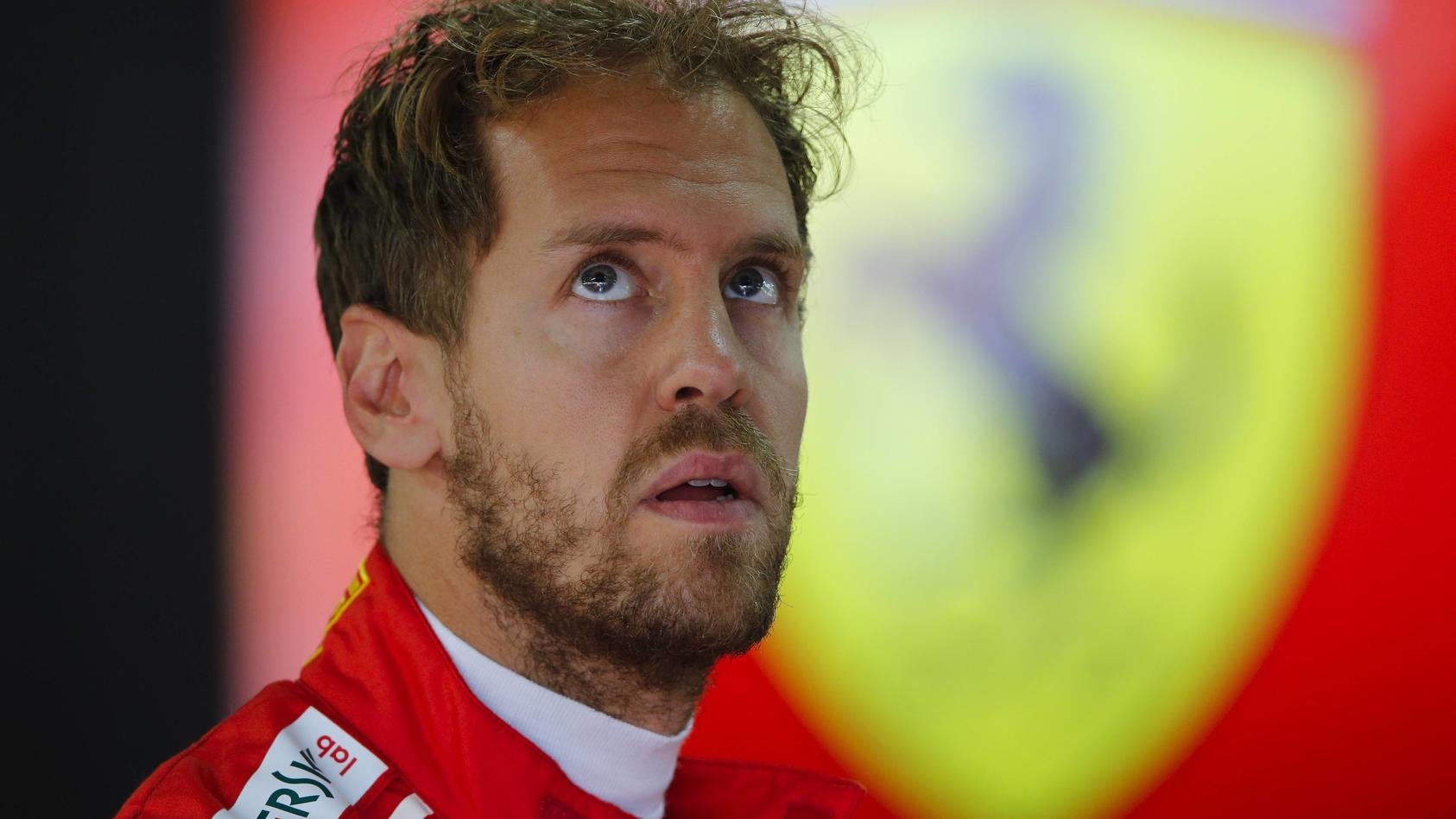 Sebastian Vettel hofft auf Saison-Ende ohne Schrecken
