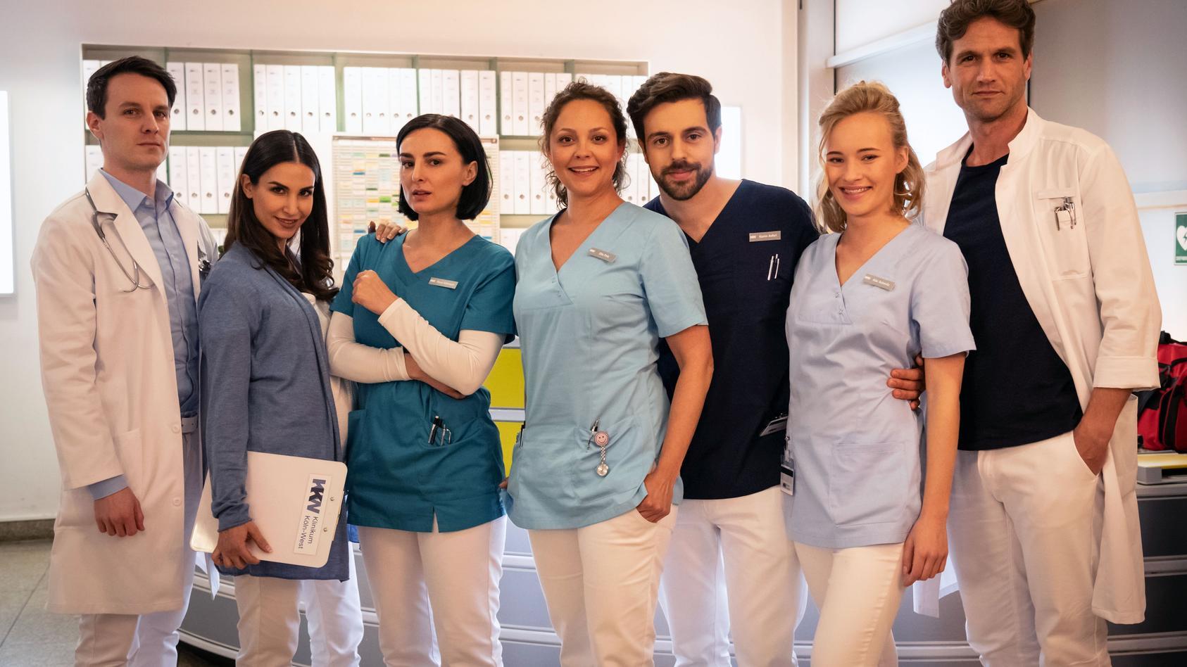 """Die Dreharbeiten zur neuen RTL-Medical-Serie """"Nachtschwestern"""" haben begonnen."""