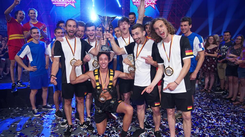 """Team Germany gewinnt beim """"Ninja Warrior Germany - 4 Nationen-Special"""""""