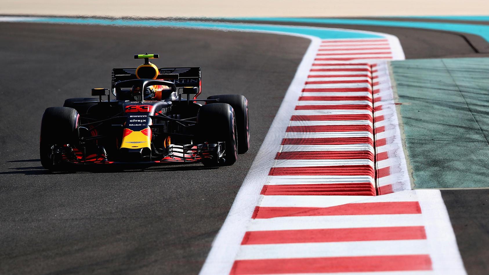Max Verstappen war beim Auftakt in Abu Dhabi das Maß der Dinge