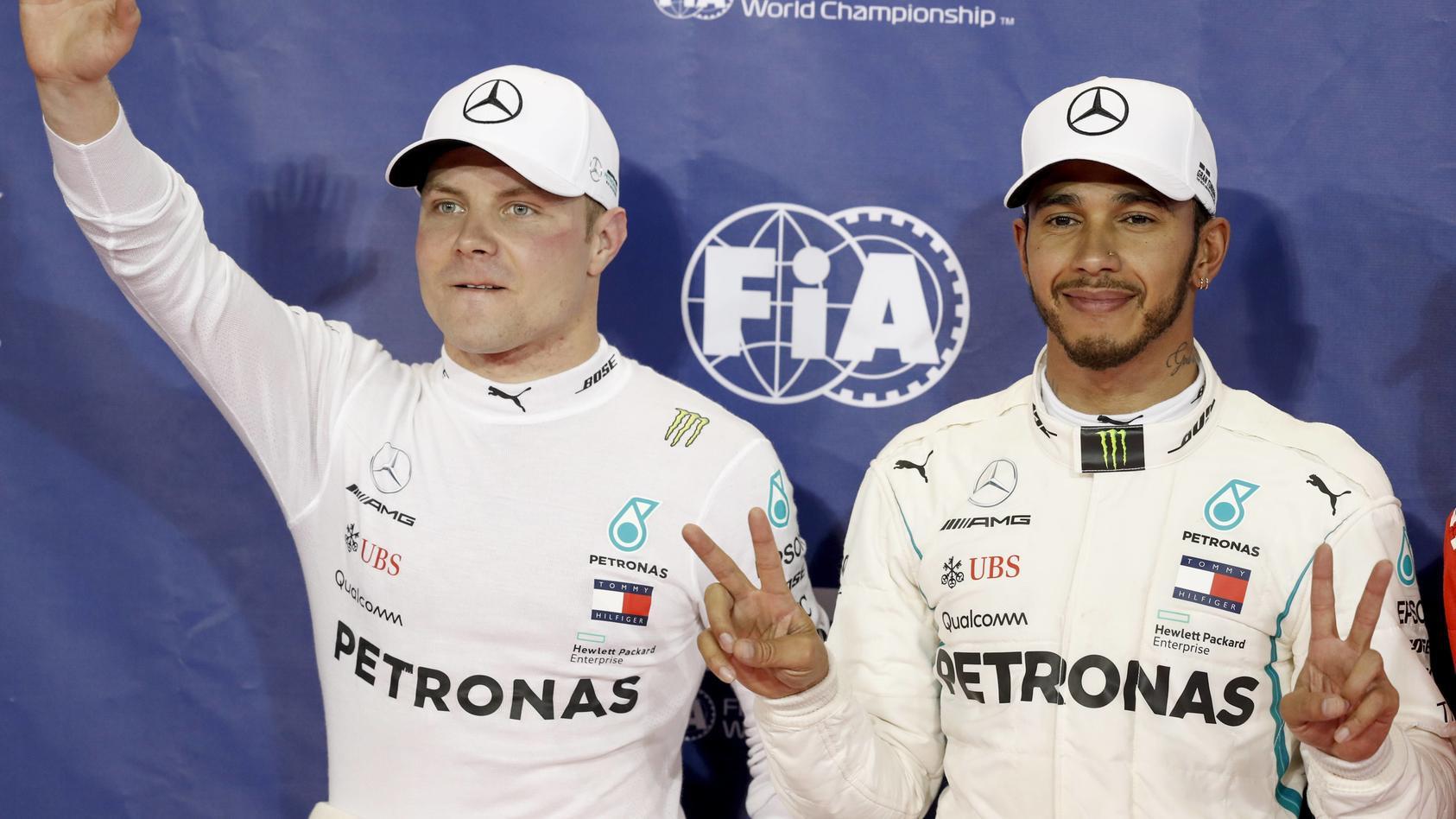 Fünf Doppel-Poles in Serie auf einer Strecke - das hat vor Mercedes noch kein anders Team geschafft