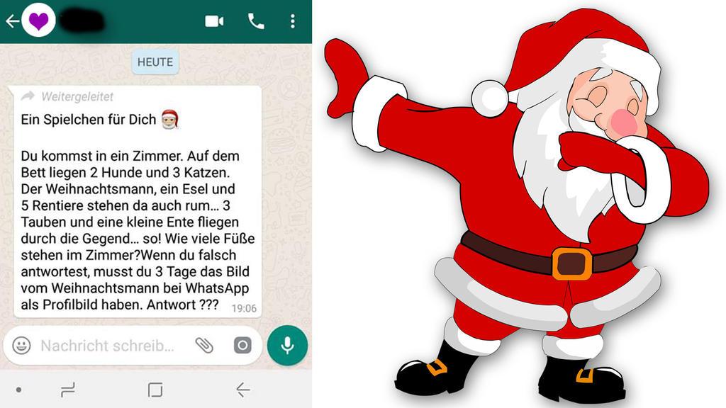 Profilbild Whatsapp Weihnachtsmann