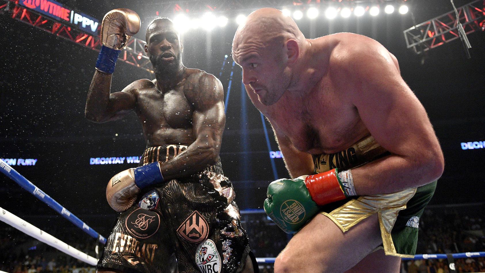 Wenn Deontay Wilder mit seinen Schlägen durchkam, klingelte es bei Tyson Fury
