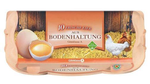 """Verschiedene Discounter und Supermärkte rufen Eier des Herstellers """"Eifrisch"""" zurück."""